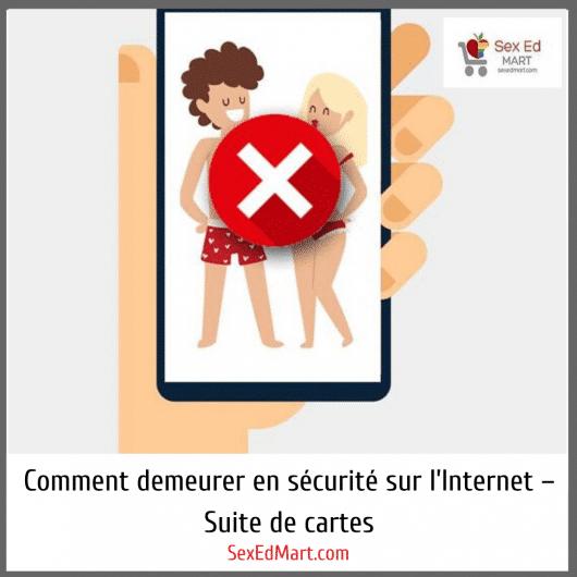 Comment demeurer en sécurité sur l'Internet – Suite de cartes