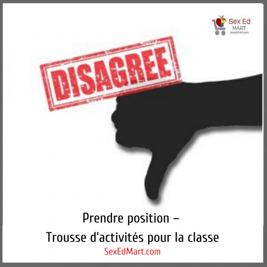 Prendre position – Trousse d'activités pour la classe