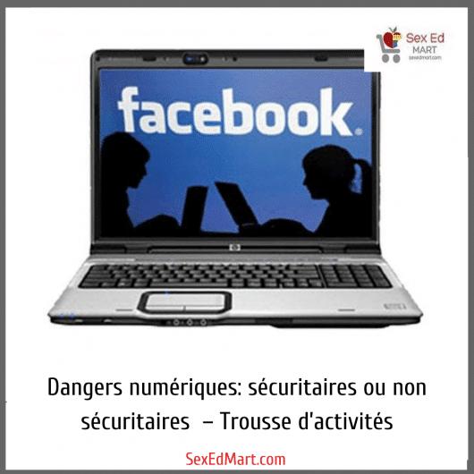 dangers numeriques securitaires ou non securitaires - trousse d;activites